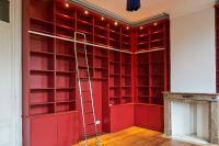 Quelle hauteur adopté pour la réalisation de votre bibliothèque ?